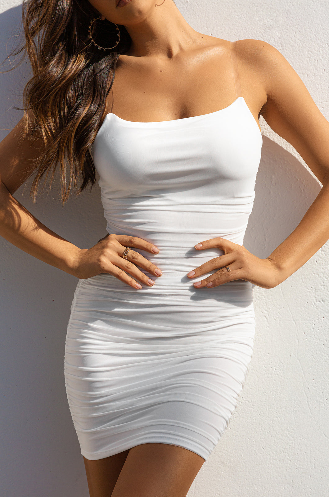 Touch Me Dress - White