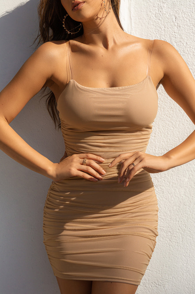 Touch Me Dress - Nude