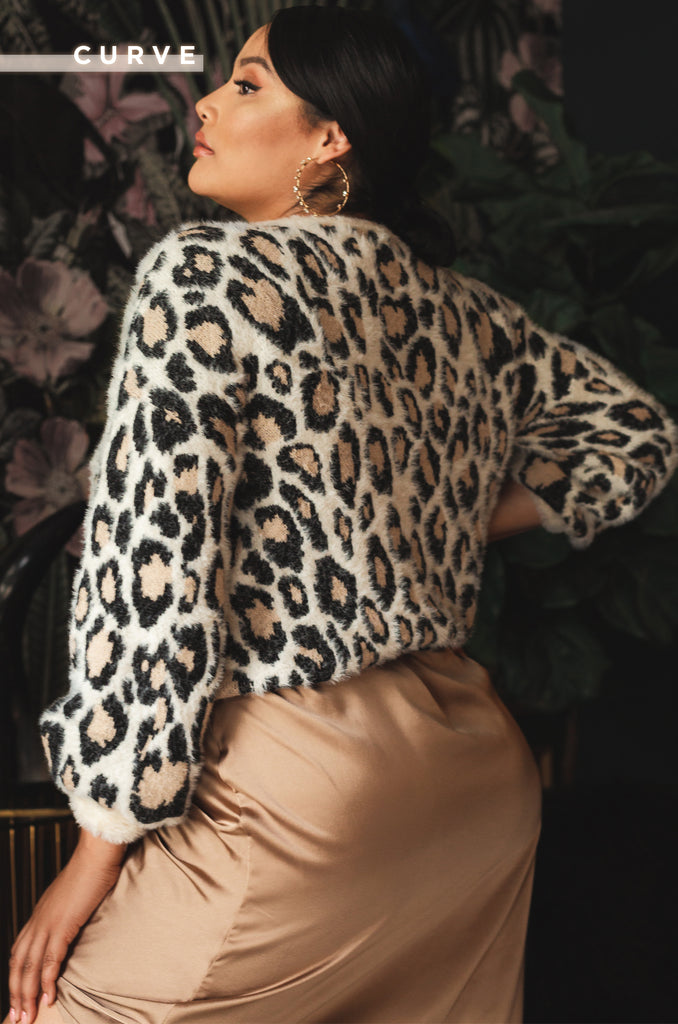 Heart Of The Wild Sweater - Leopard