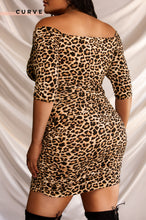 Wild For The Night Dress - Leopard