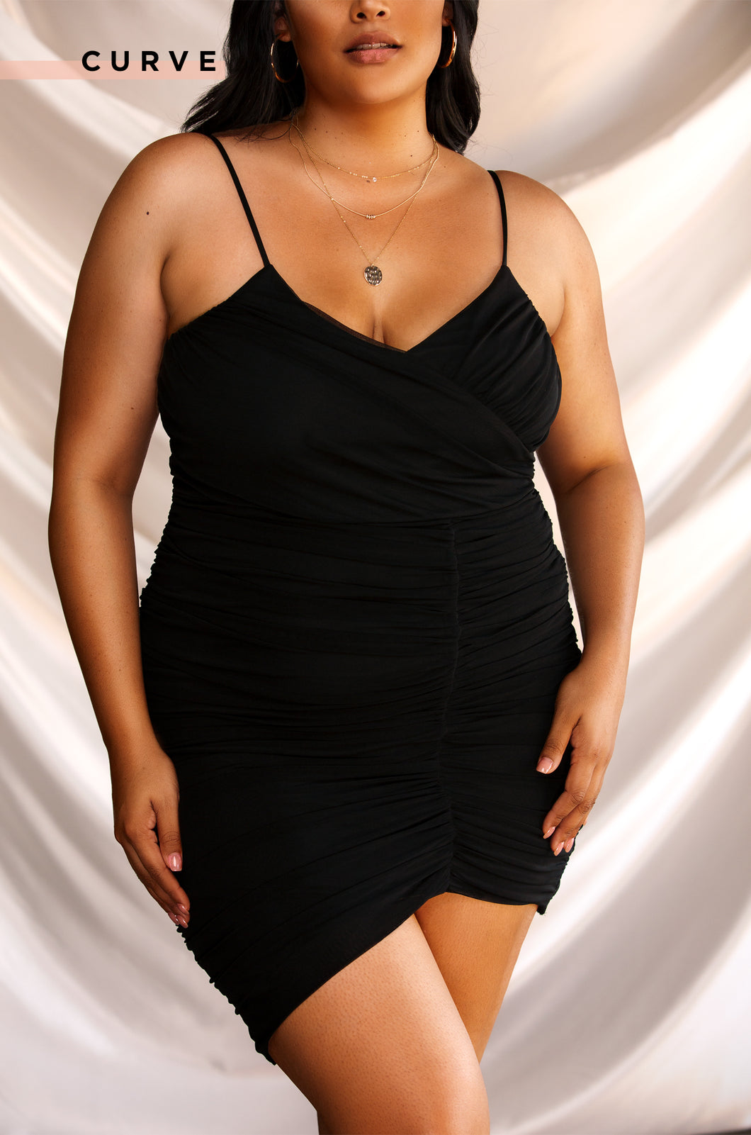 Second To None Dress - Black
