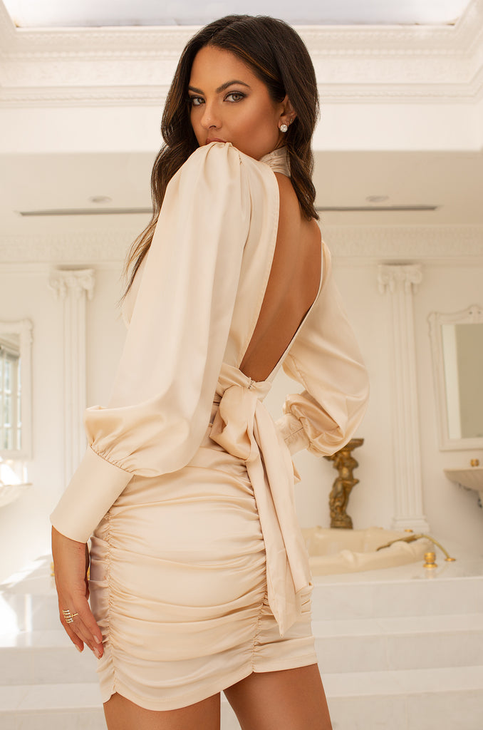 Always Luxe Dress - Nude