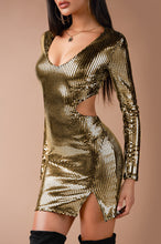 Stargaze Dress - Gold
