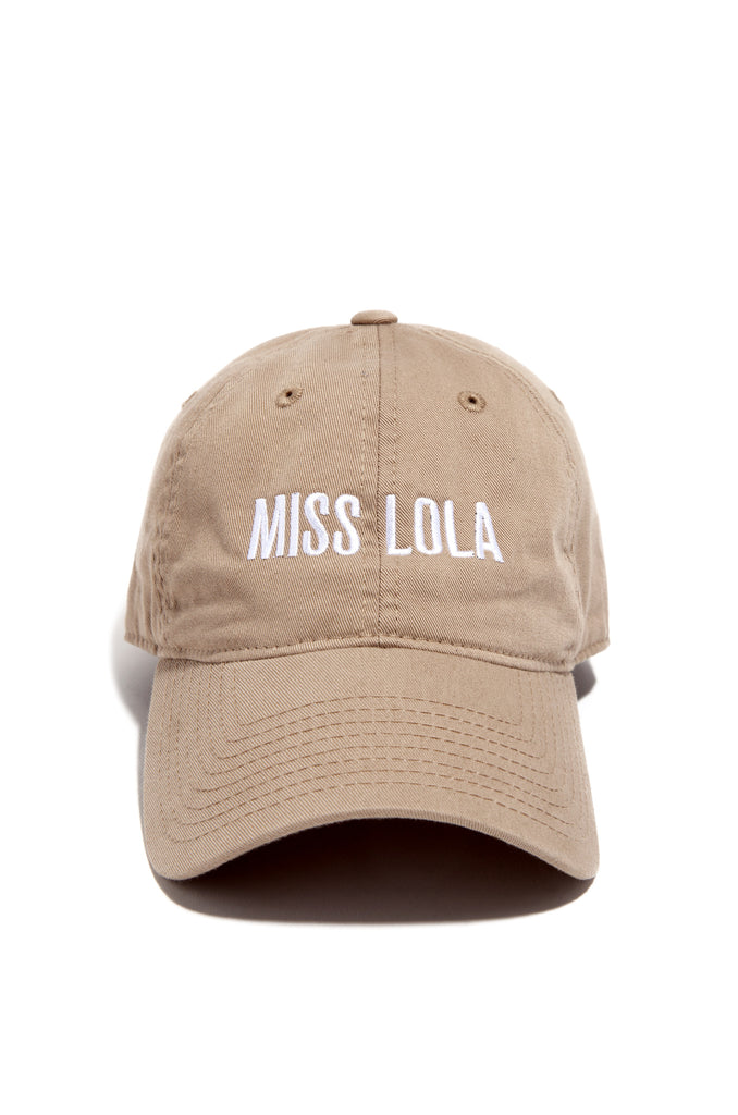 Miss Lola Hat - Nude
