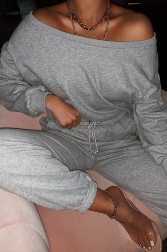Dressed To Chill Jogger - Grey