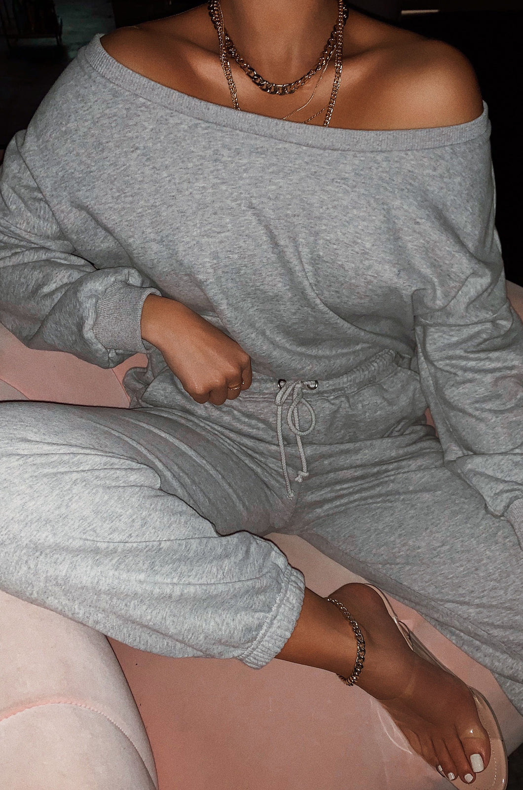 Dressed To Chill Sweat Pant - Grey