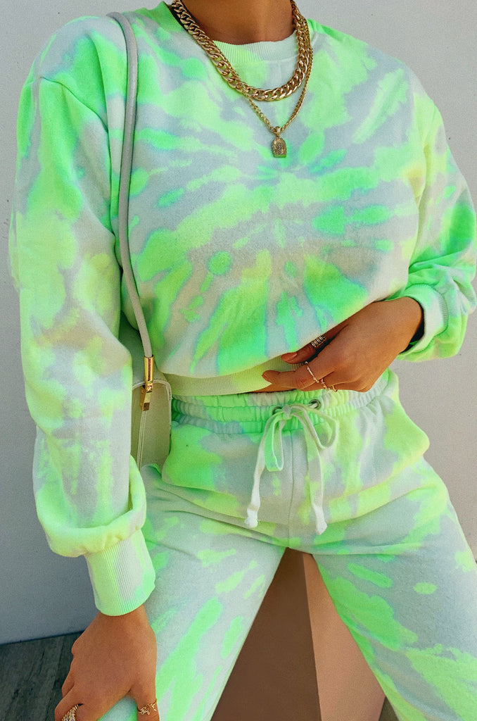 All The Vibes Set - Neon Tie Dye