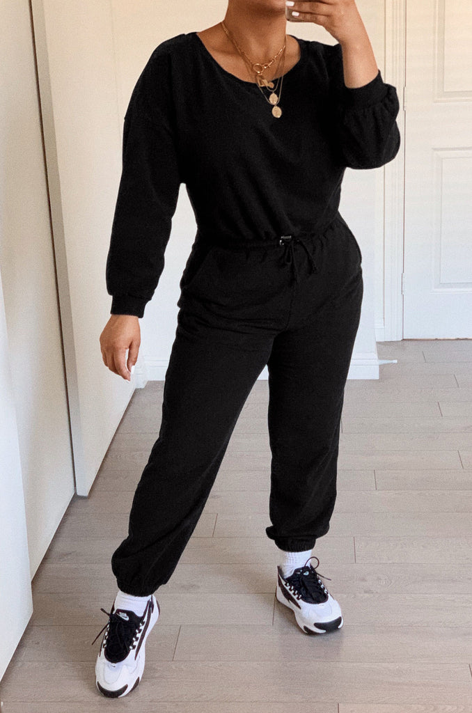 Dressed To Chill Jogger - Black 1