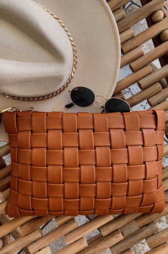 Fashion Fix Clutch - Tan