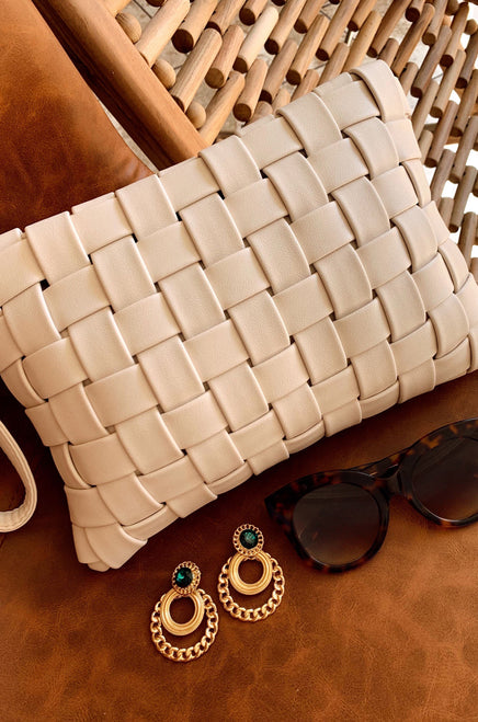 Fashion Fix Clutch - Ivory