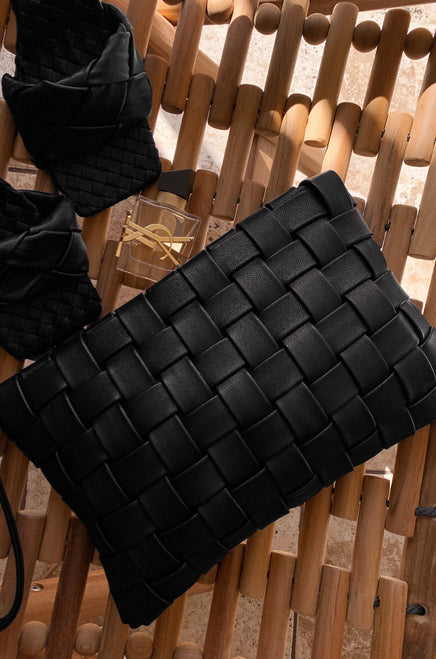 Fashion Fix Clutch - Black