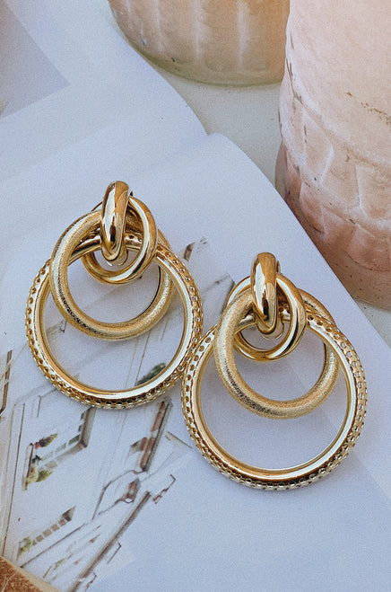 Allyn Earring - Gold