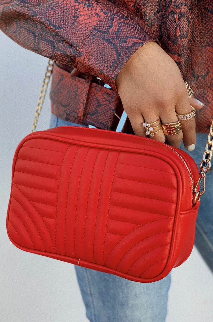 Slay The Game Bag - Red