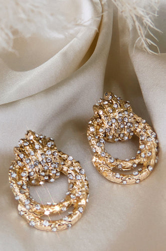 Le Glamour Earring - Gold