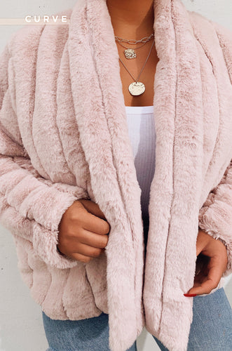 Upper East Side Coat - Mauve