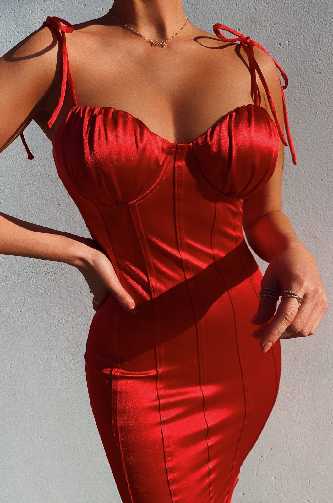 As You Wish Dress - Red