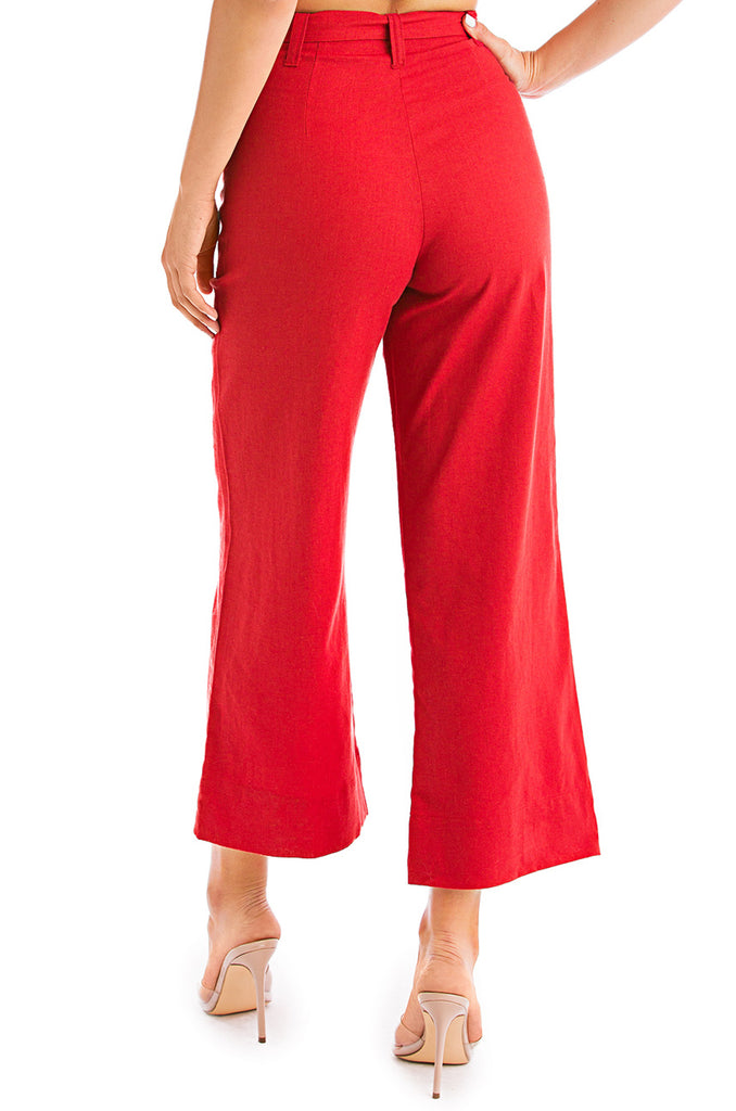 Haute Pursuit Pant - Red