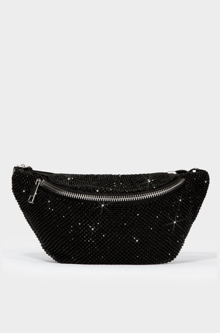 Buckle Up Belt Bag - Black