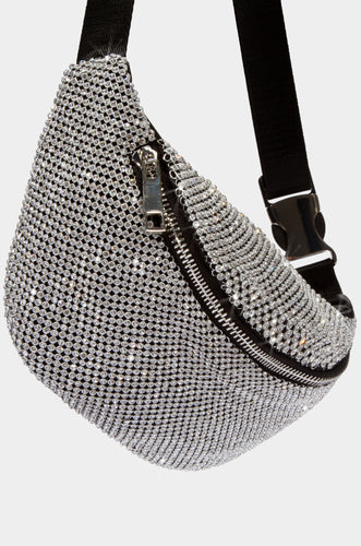 Buckle Up Belt Bag - Silver
