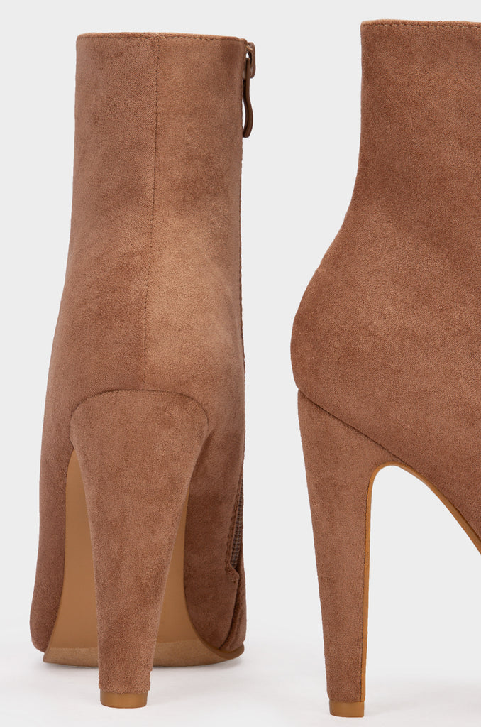 On My Way - Taupe Suede