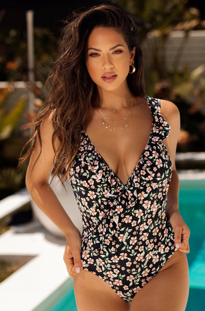 Lost In Paradise Swimsuit - Floral