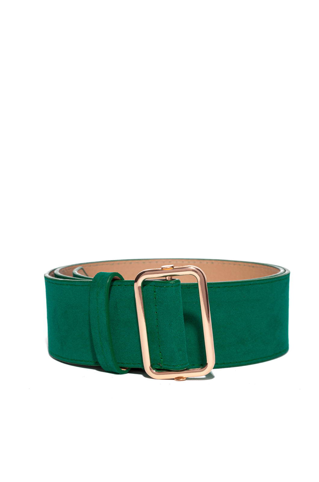 Fashion Figure Belt - Teal Green