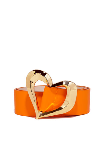 Keep My Heart Belt - Orange