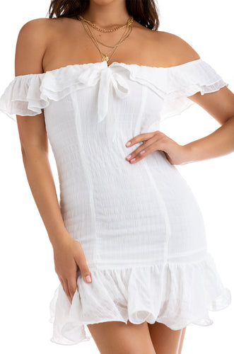 When In Cabo Dress - White