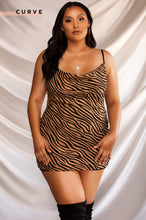 Wild Heart Dress - Tiger