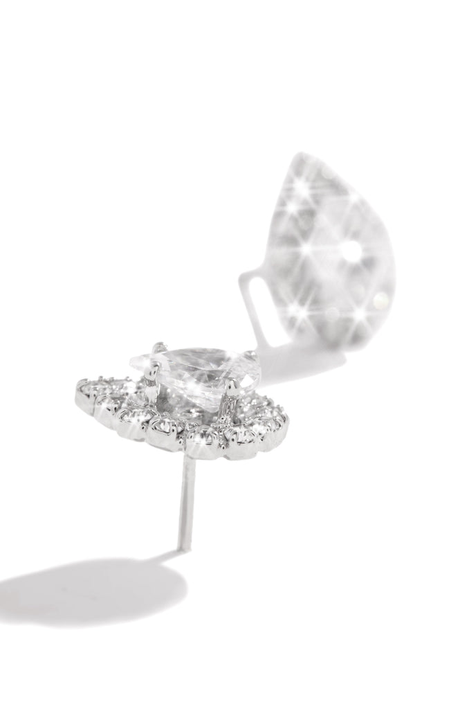 Diamond Girl Earring - Silver
