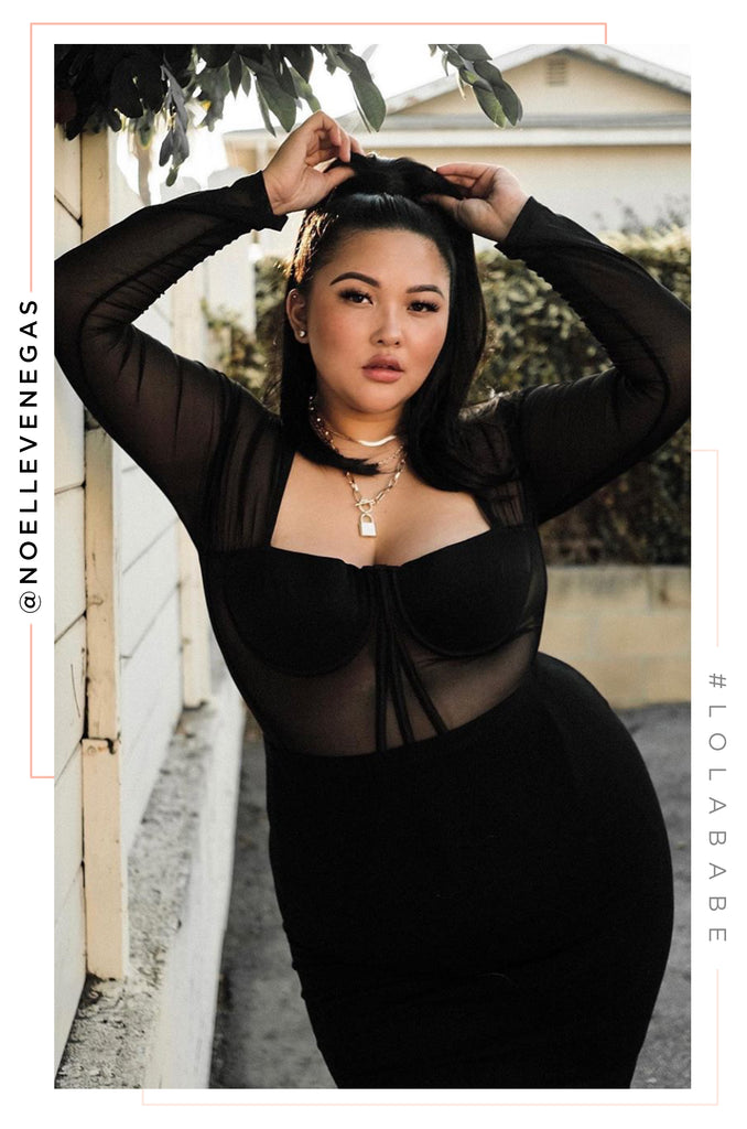 Somebody's Angel Top - Black