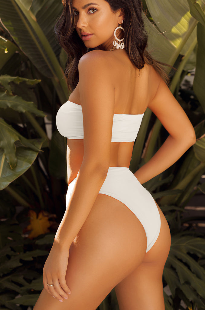 Private Island Bikini Set - White