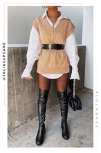 Brandy Sweater Vest - Tan