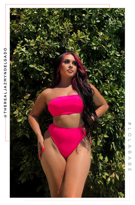 Private Island Bikini Set - Neon Pink