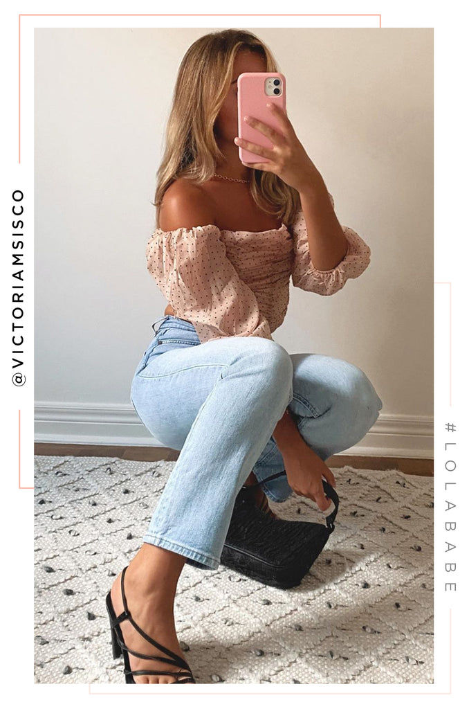 Paris Night Out Top - Mauve