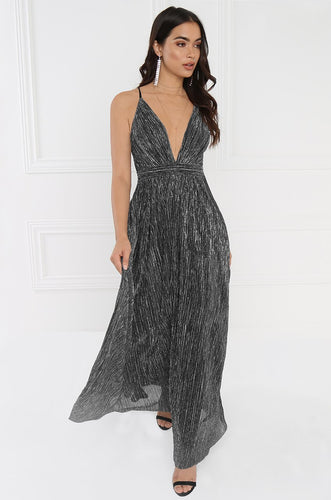 Champagne Toast  Dress - Black