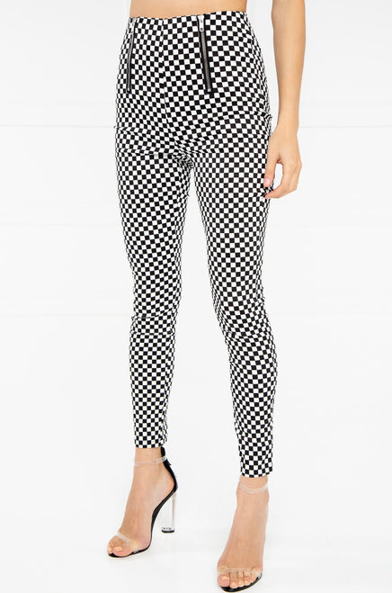 Tap Out Pant - Black Checkered