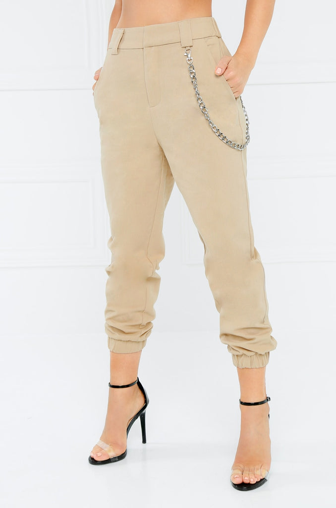 Chain Reaction Pant - Nude