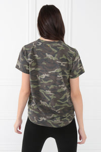 Get Attention Tee - Camouflage