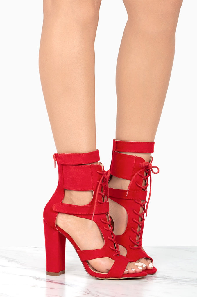Own The Game - Red Suede