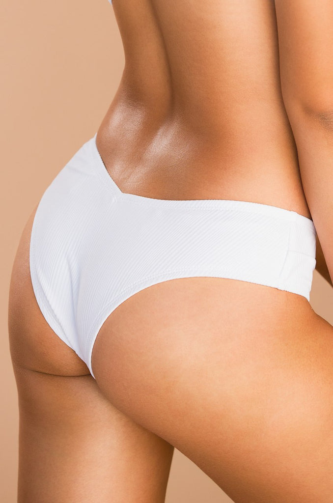 Chase The Chaos Swim Bottom - White