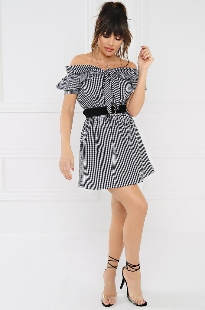 Dreamer Dress - Black & White