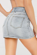 Far Out Denim Skirt - Light Wash