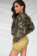 Plan Your Escape Denim Jacket - Camouflage