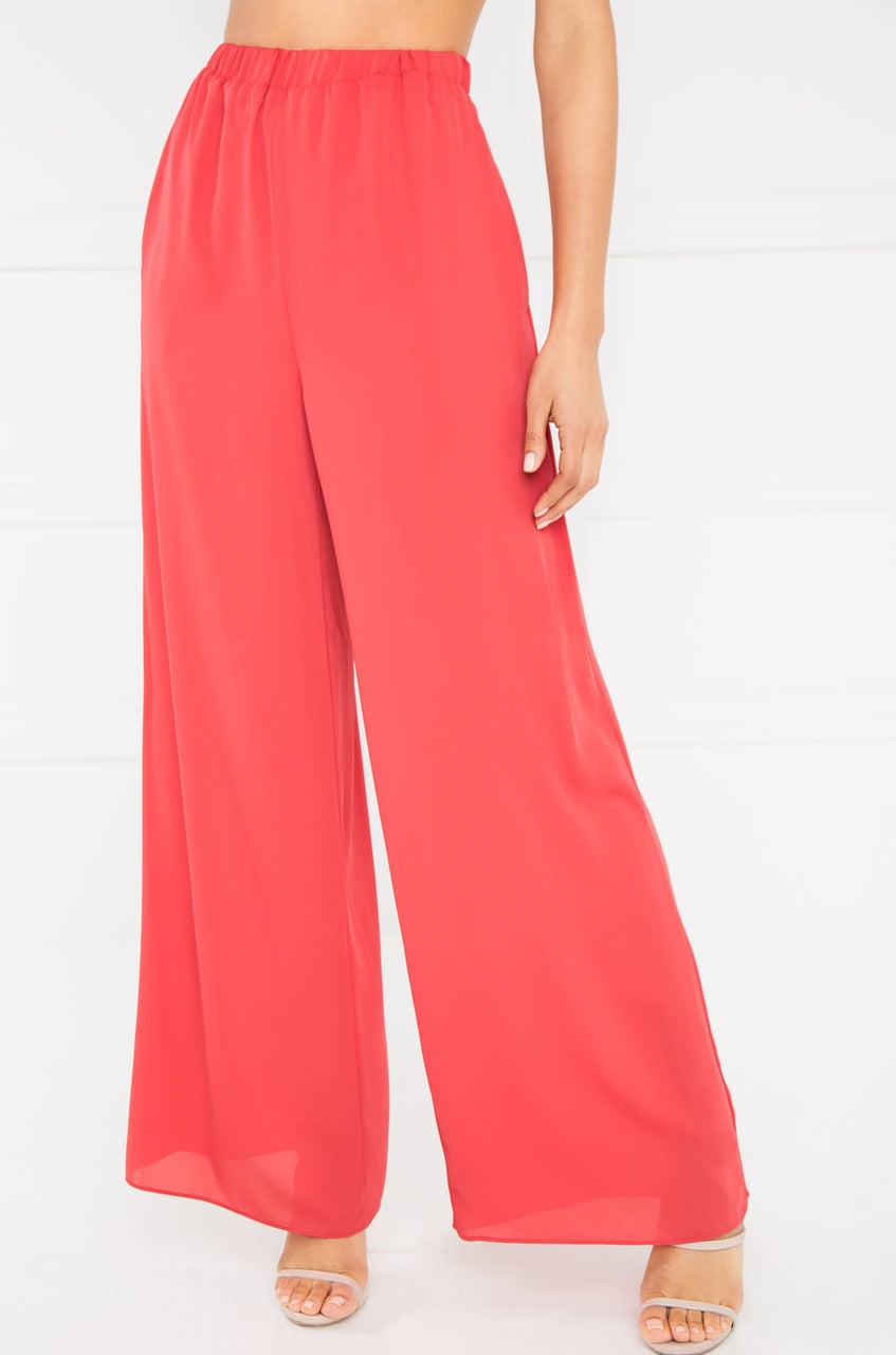 Right Moves Trouser - Coral