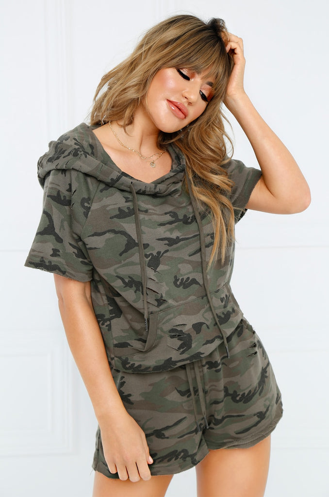 Master of Disguise Shorts - Camouflage