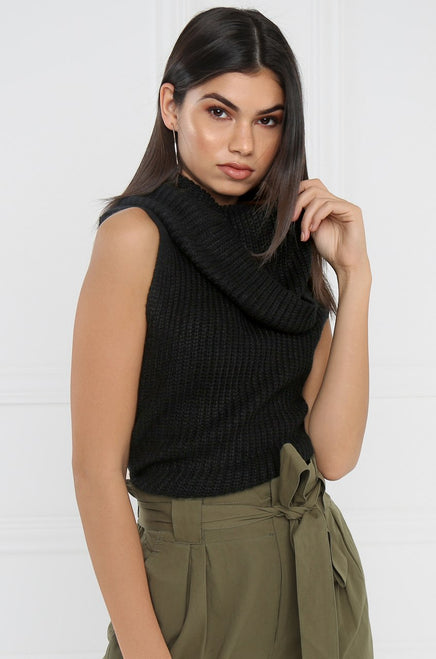 Zip It Knit - Black