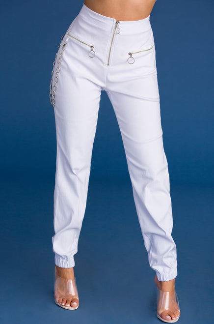 Full Disclosure Pant - White