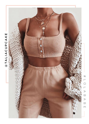 Looking Like Bae Top - Nude
