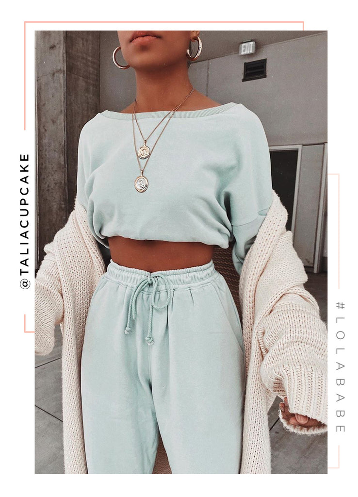 Dressed To Chill Sweater - Sage